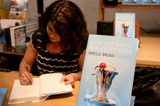 Janelle_brown_book_signing