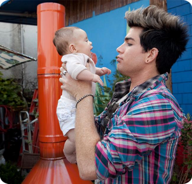 Adam-lambert-baby-shower-carmit-bachar-kevin-whitaker