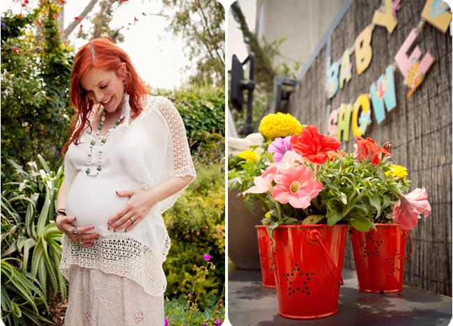 Carmit-bachar-kevin-whitaker-venice-garden-baby-shower-flowers-