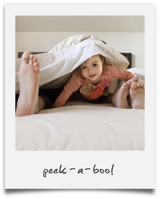 Polaroid-peek a boo