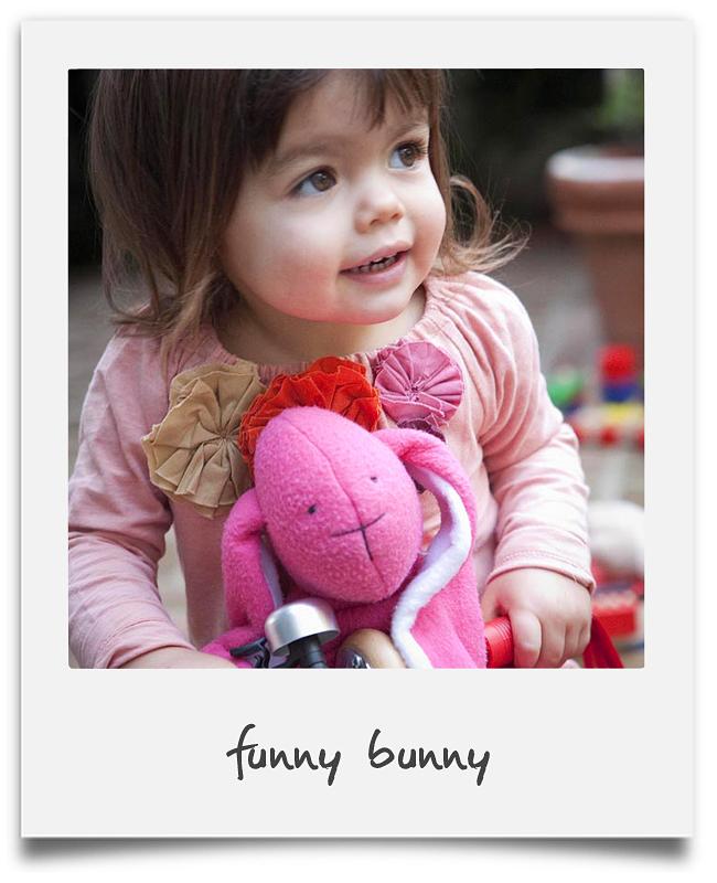 Polaroid-funny bunny