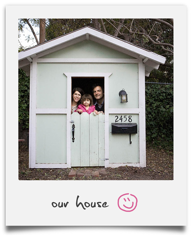 Polaroid-our house